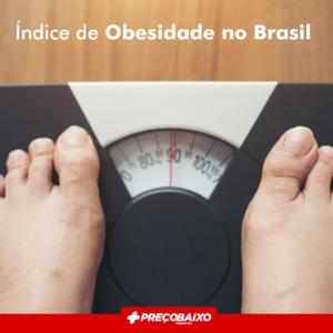 Índice de Obesidade no Brasil